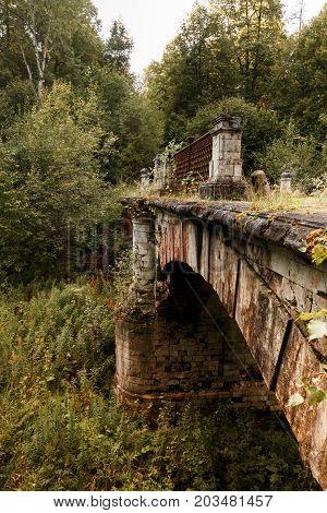 Ancient Brick Bridge.