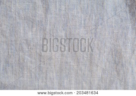 Grey Heather Texture. Grey Fabric Texture. Background With Delicate Striped Pattern. Real Heather Gr
