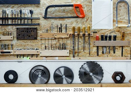 Composition Of Carpenter Tools