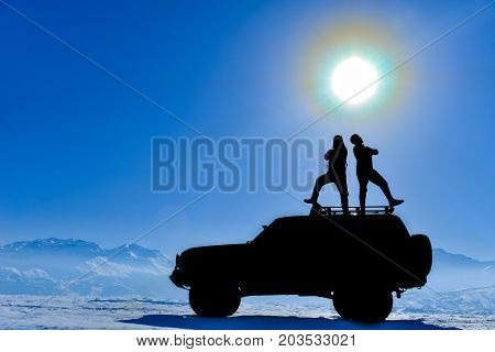 proud and noble adventurers & adventurers duo