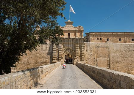 Silent City Of Mdina, Malta