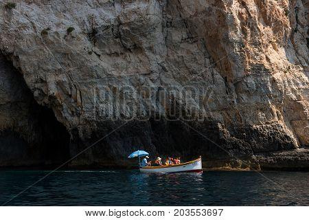 Blue Grotto Boat Trip, Malta
