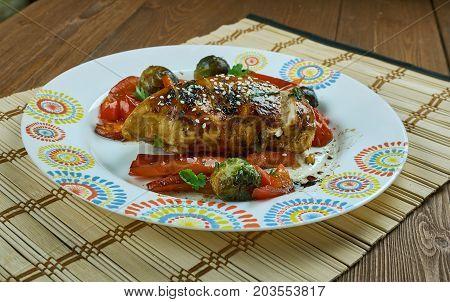 One Sheet Pan Teriyaki Chicken