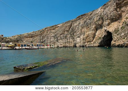 Inland Sea, Dwejra, Gozo Island, Malta