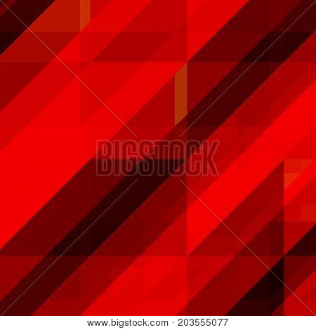 Abstract geometric background of triangles with overlapping