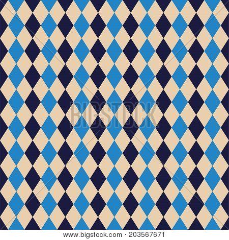 Seamless Argyle Diamond Harlequin Pattern Texture Background Wallpaper