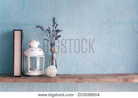 Shabby Old Interior Decor For Farmhouse.