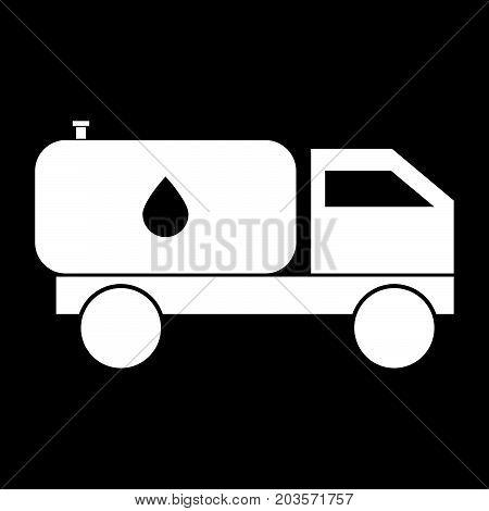 Cistern Truck It Is Icon .