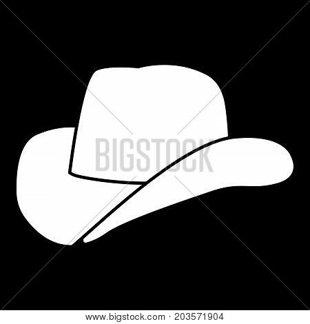 Cowboy Hat It Is Icon .