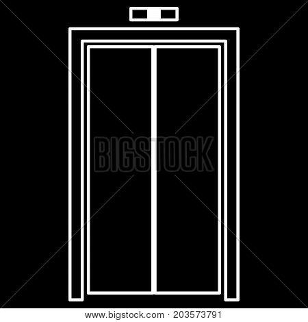 Elevator Doors It Is Icon .