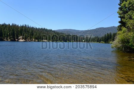 Mountain Lake In Sequoia National Park, California, Usa