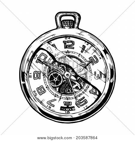 Illustration Of Pocketwatch