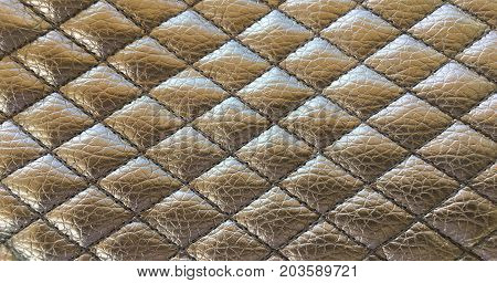 Old black leather texture background. Organic leather background. Black natural leather texture.
