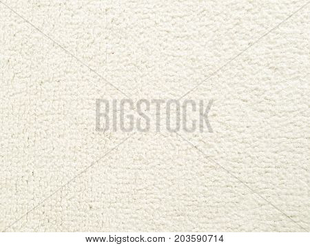 Velvet fabric. Old white textile texture background. Organic fabric background. White natural fabric texture