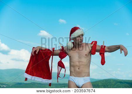 Christmas Man Outdoor.