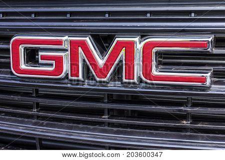 Kokomo - Circa September 2017: GMC and Buick Truck and SUV dealership. GMC and Buick are divisions of GM VII