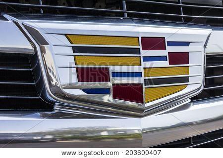 Kokomo - Circa September 2017: Cadillac Automobile Dealership. Cadillac is the Luxury Division of General Motors V