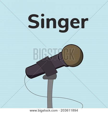 Microphone For Singer