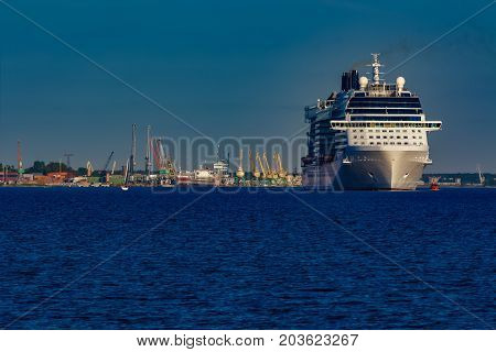 White Giant Cruise Liner
