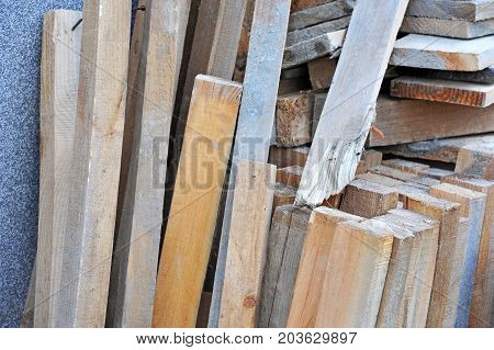 Old Wooden Beam