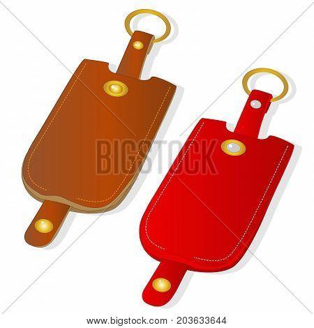Key Holder Isolated Illustration