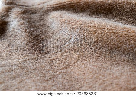 Brown natural fur texture for the background