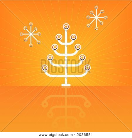 Modern Stylized Christmas Tree