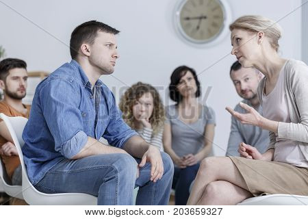 Discussion In Support Group