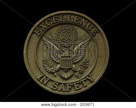 Excellence In Safety Coin