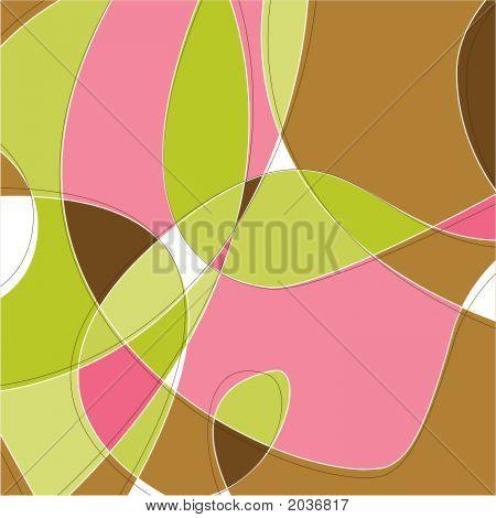 Retro Swirl Background