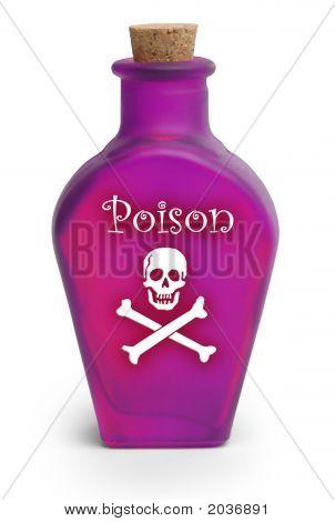 Poison On White