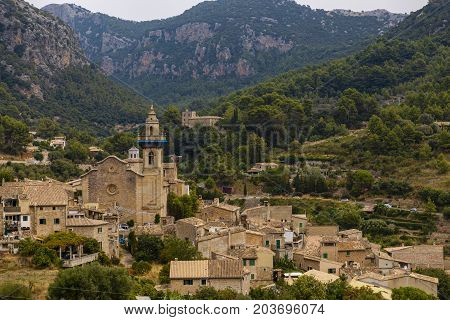 Images From The City Of Valldemossa In Palma De Mallorca. Spain (28-08-2017)