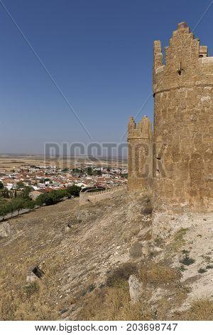 Castle Of Belmonte In Cuenca.