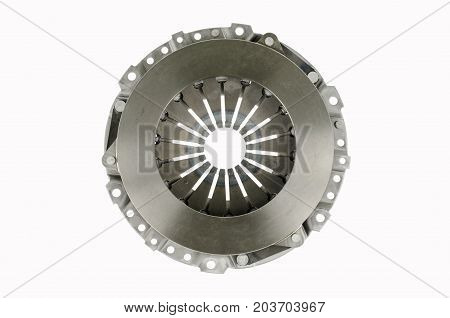 clutch pressure plate isolate on white background.