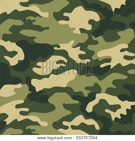 Military clothing khaki color for background and design