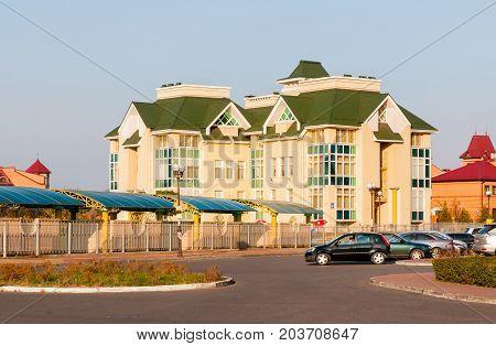 Modern School In The Obolon District Of Kiev