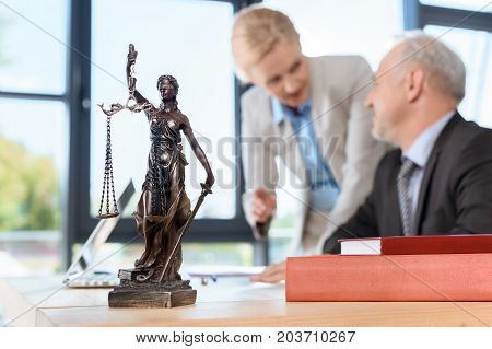 Lawyers Discussing Plans
