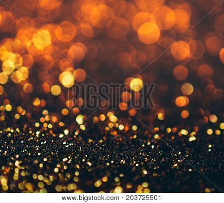 glitter lights grunge background glitter defocused abstract Twinkly Lights and glitter Stars Christmas light Background.