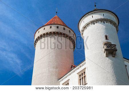Konopiste Castle Towers, Czech Republic