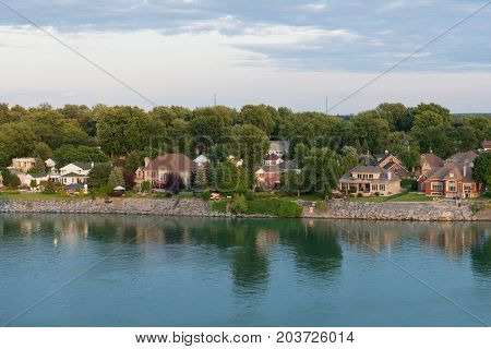 Homes Along The St. Lawrence