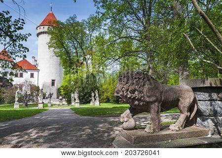 Konopiste Castle Park, Czech Republic