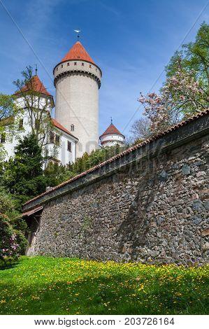 Konopiste Castle Exterior, Czech Republic