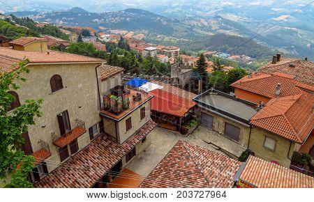 San Marino - Architecture Old City