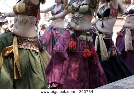 Belly Dancing Women