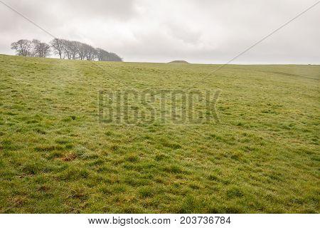 Arbor Low Stone Circle, Peak District. Ancient Sundial. English Landscape Derbyshire