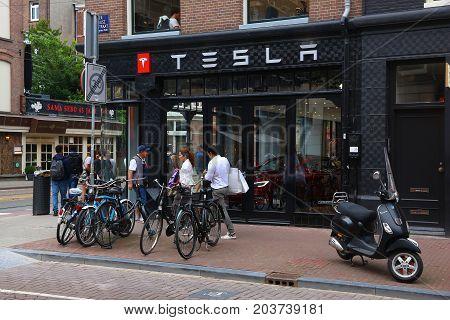 Tesla In Europe