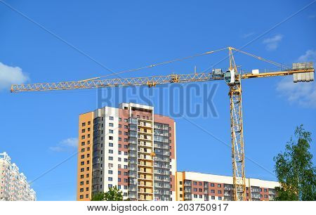 construction of a multi storey residential house