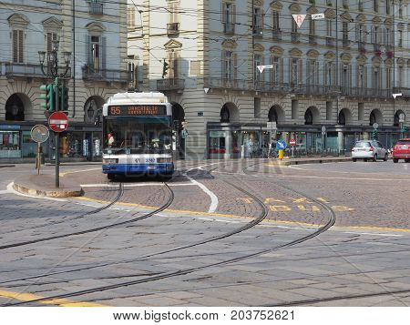Bus In Turin