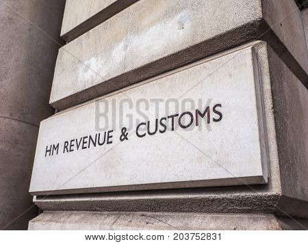 Hmrc In London (hdr)
