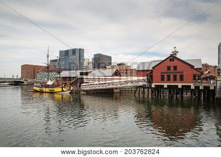 The Boston Tea Party In Boston Ma